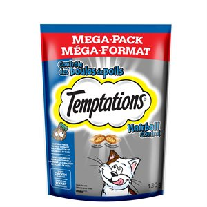 Temptations Cat Treats Hairball Control Chicken 130g