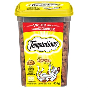 Temptations Cat Treats Tasty Chicken 454g Tub