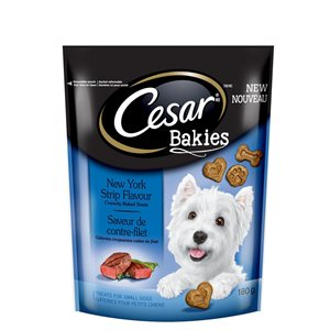 Cesar Adult Dog Bakies New York Strip Flavor 180g