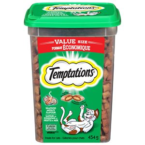 Temptations Cat Treats Seafood Medley 454g Tub