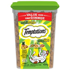Temptations Cat Treats Mix-Ups Catnip, Chicken & Cheese 454g Tub