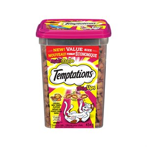Temptations Cat Treats Mix-Ups Meaty Beef Chicken & Turkey 454g Tub