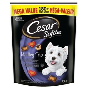 Cesar Adult Dog Softies Medley Trio 454g Mega Pack
