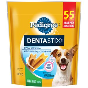 Pedigree Dentastix Original Small 55 Count 869g