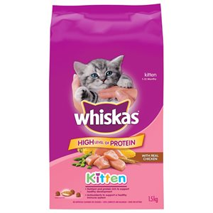 Whiskas Kitten Chicken Recipe 1.5KG