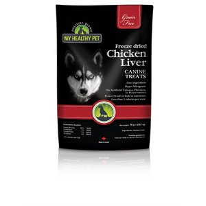 My Healthy Pet Canine Grain Free Treats Chicken Liver 35g
