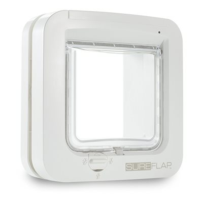 SureFlap Microchip Cat Flap White