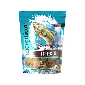 Inception Dog Treats Fish Biscuits 12oz