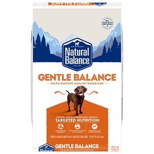 Natural Balance Targeted Nutrition Adult Dog Gentle Balance Chicken Formula 26 LB