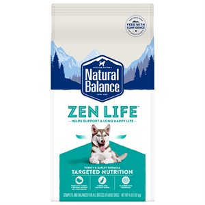 Natural Balance Targeted Nutrition Adult Dog Zen Life Turkey Formula 4 LB