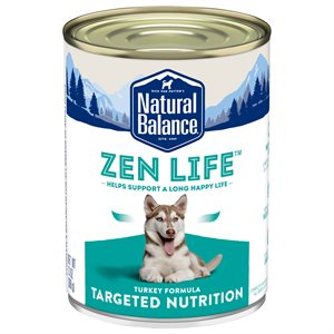 Natural Balance Targeted Nutrition Adult Dog Zen Life Turkey Formula 12 / 13oz
