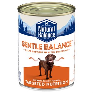 Natural Balance Targeted Nutrition Adult Dog Gentle Balance Chicken Formula 12 / 13oz