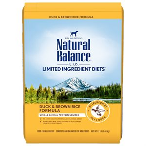 Natural Balance LID Adult Duck & Rice 12 LB