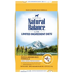Natural Balance LID Adult Duck & Rice 26 LB