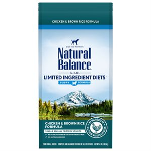 Natural Balance LID Puppy Chicken & Rice 4 LB