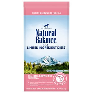 Natural Balance LID Adult Salmon & Rice 4 LB