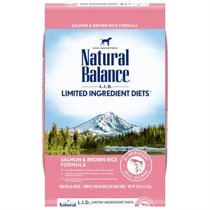Natural Balance LID Adult Salmon & Rice 26 LB