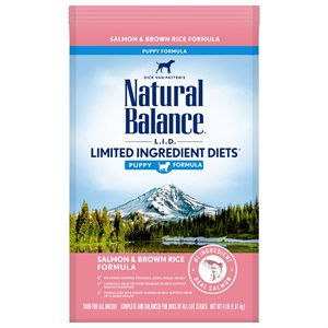 Natural Balance LID Puppy Salmon & Rice 4 LB