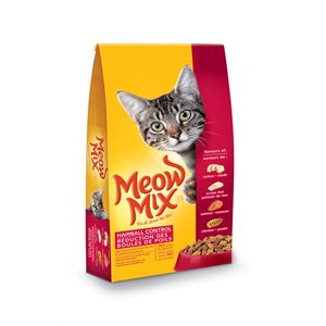 Smuckers Meow Mix Hairball Control Dry Cat Food 12 / 1.6KG