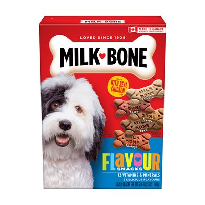 Smuckers Milk Bone Flavour Snacks Small Biscuits 12 / 800g