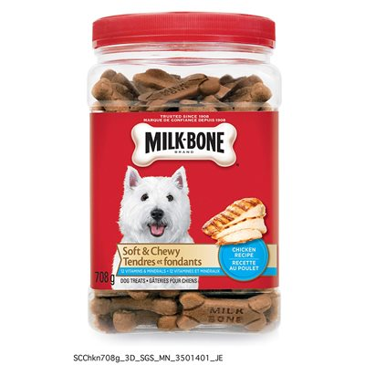Smuckers Milk Bone Soft & Chewy Chicken Flavor Treats 6 / 708g
