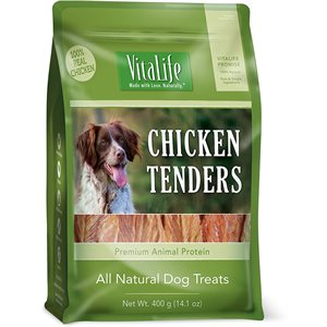 VitaLife Dog Jerky Treats Chicken Tenders 400g