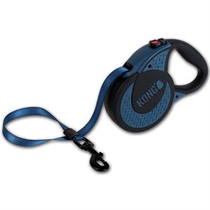 KONG Retractable Tape Leash Ultimate Extra Large Blue 5m up to 70KG