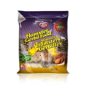Martin Mills Extruded Hamster & Gerbil Food 500gm
