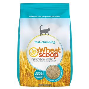 sWheat Scoop Fast Clumping Wheat-Based Cat Litter 12LB