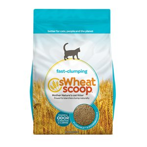 sWheat Scoop Fast Clumping Wheat-Based Cat Litter 36LB