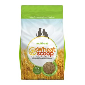 sWheat Scoop Multi-Cat Clumping Wheat-Based Cat Litter 25LB