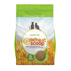 sWheat Scoop Multi-Cat Clumping Wheat-Based Cat Litter 36LB