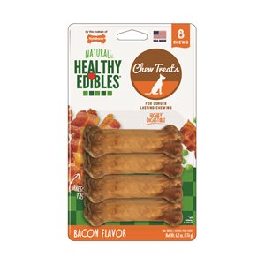 Nylabone Healthy Edibles Bacon 8 Count Petite