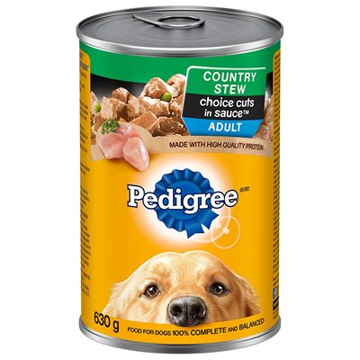 Pedigree Adult Dog Choice Cuts Country Stew 12 / 630g